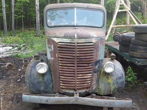 Barn find 1940 Chevy Coe Cabover Stubnose Truck Project for sale