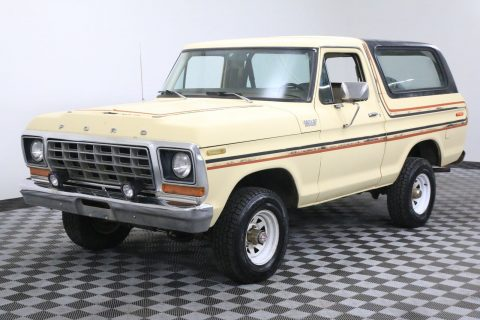 Collector Grade 1978 Ford Bronco Barn Find for sale