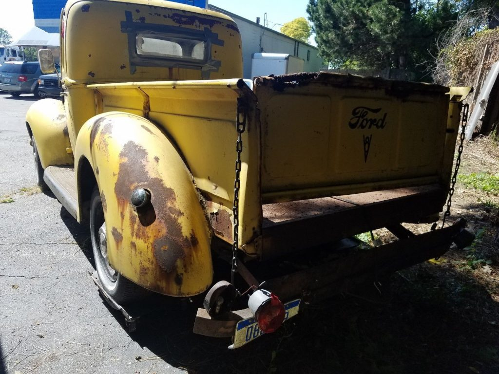 1 Owner 1940 Ford Pickup Truck Barn Find project