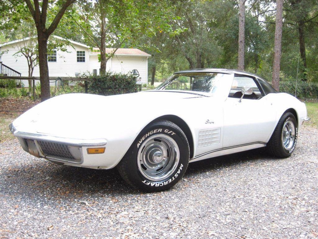 1971 Chevrolet Corvette Convertible Barn Find Project