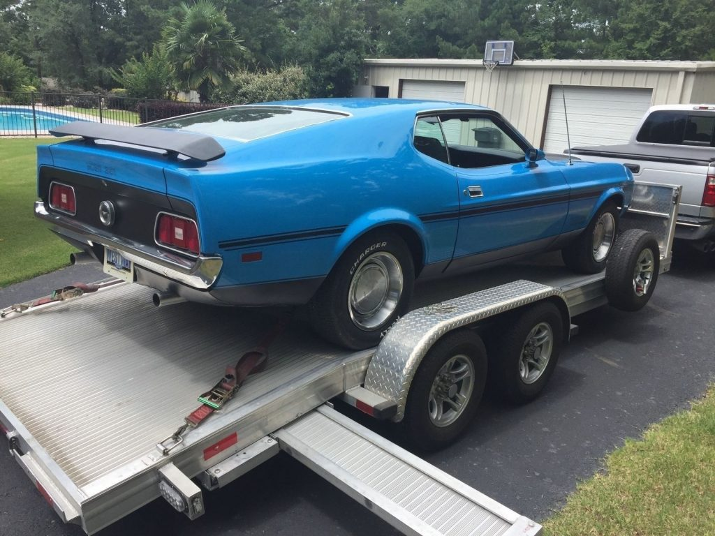 1971 Ford Mustang BOSS 351 Rare Barn find