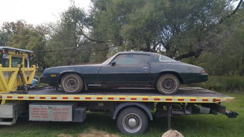 Numbers matching 1978 Chevrolet Camaro Barn find for sale