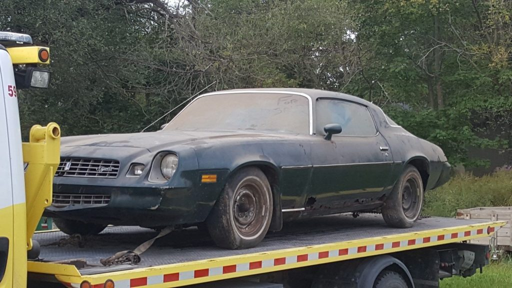 Numbers matching 1978 Chevrolet Camaro Barn find