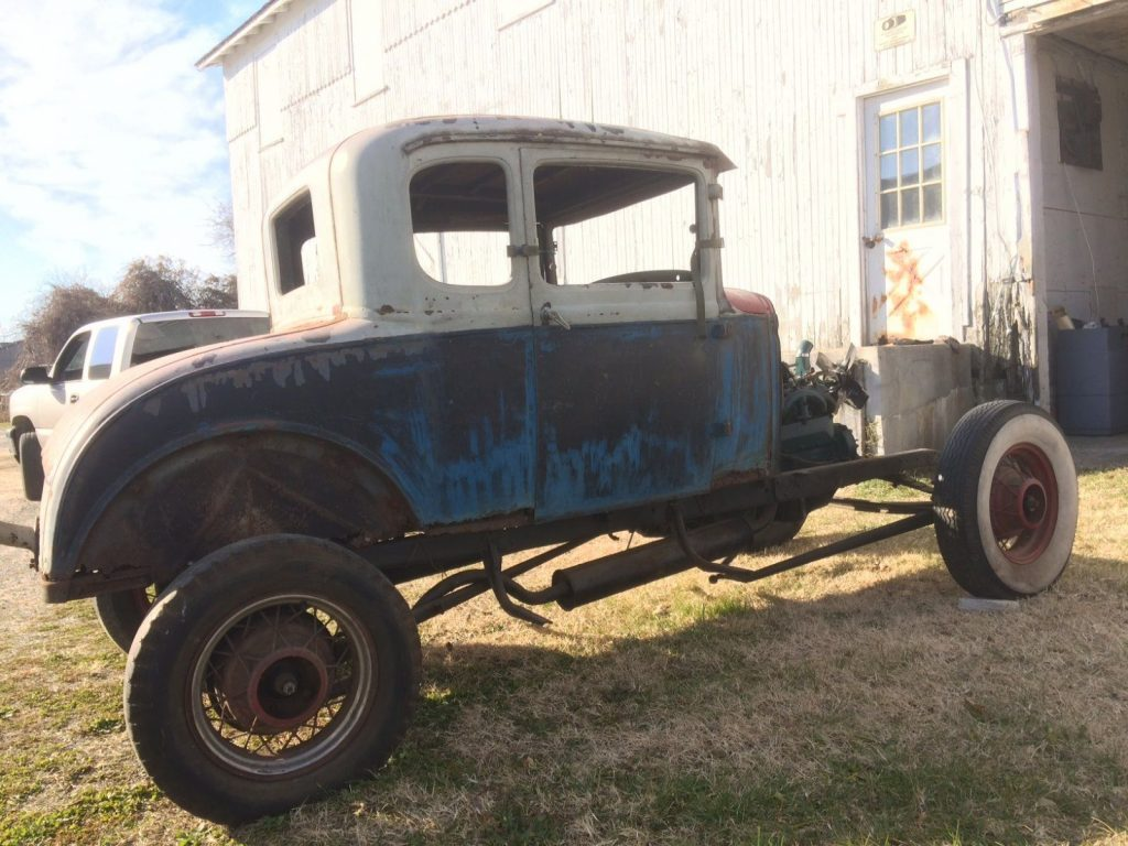1931 Ford Model A 5 Window Coupe Barn Find