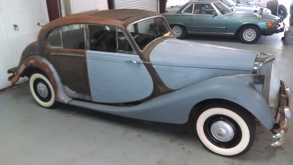 1949 Jaguar Saloon Mark V Survivor Car