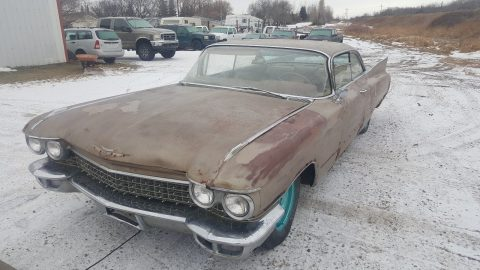 1960 Cadillac Coupe Deville Barn Find Restoration Project for sale