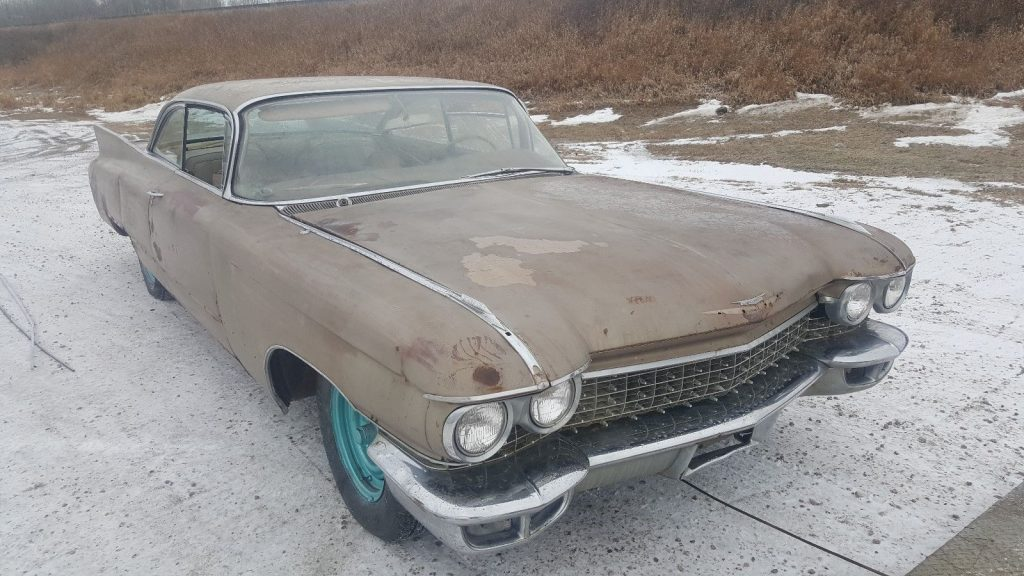 1960 Cadillac Coupe Deville Barn Find Restoration Project
