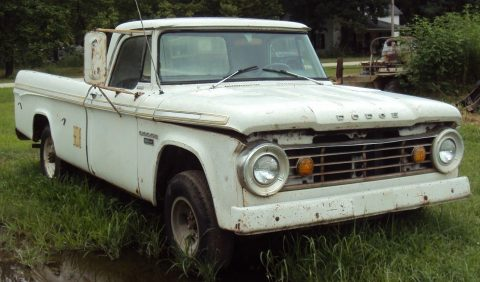 1967 Dodge D100 Sweptline Pickup Track Farm find for sale