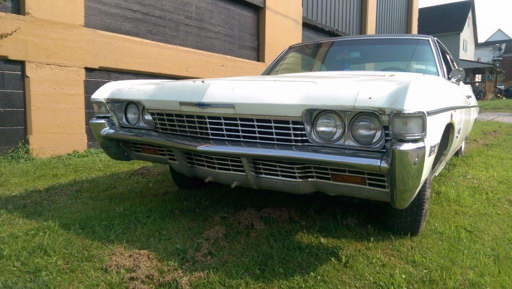 1968 Chevrolet Impala Fastback Barn Find