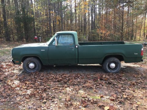 1973 Dodge D100 Custom Picku up Truck Barn find survivor for sale