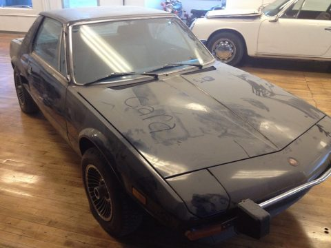 1974 Fiat X-1/9 barn find Stored for 31 years for sale