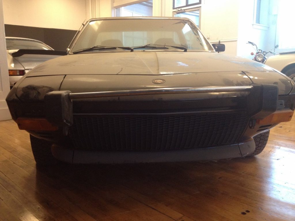 1974 Fiat X-1/9 barn find Stored for 31 years