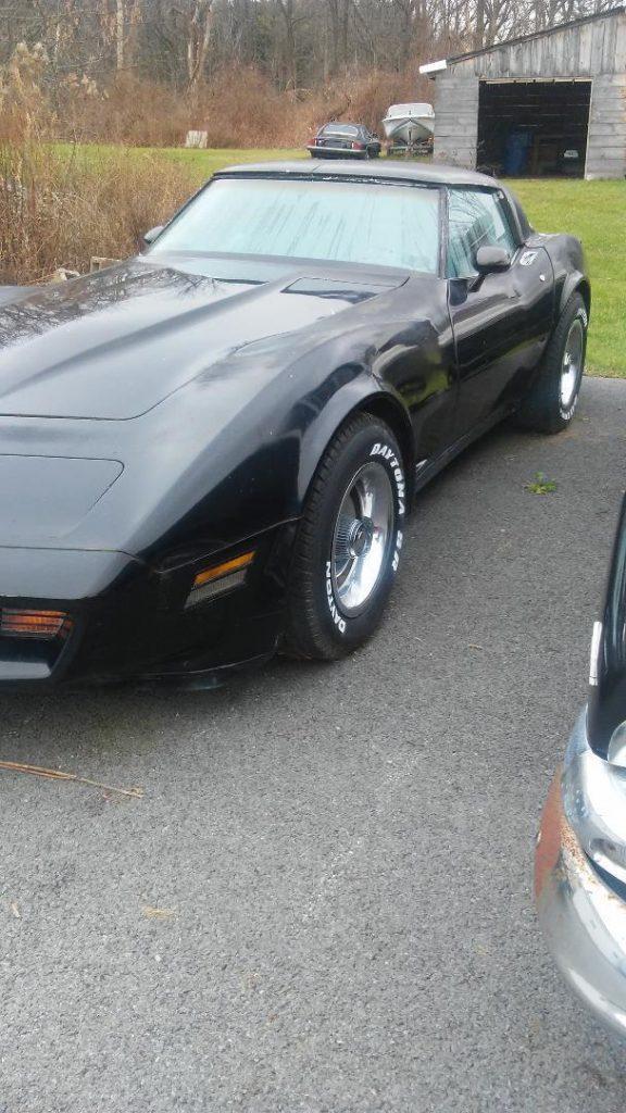 1978 Chevrolet Corvette barn find original paint