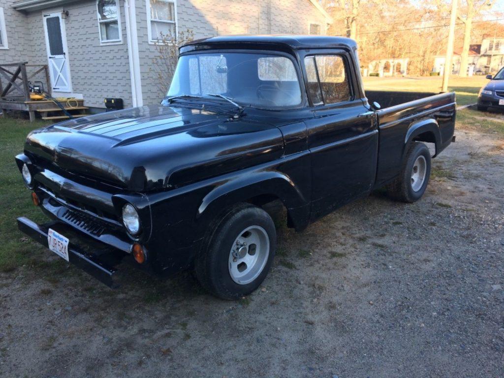 1957 Ford 1/2 Ton Pickup – runs and drives great
