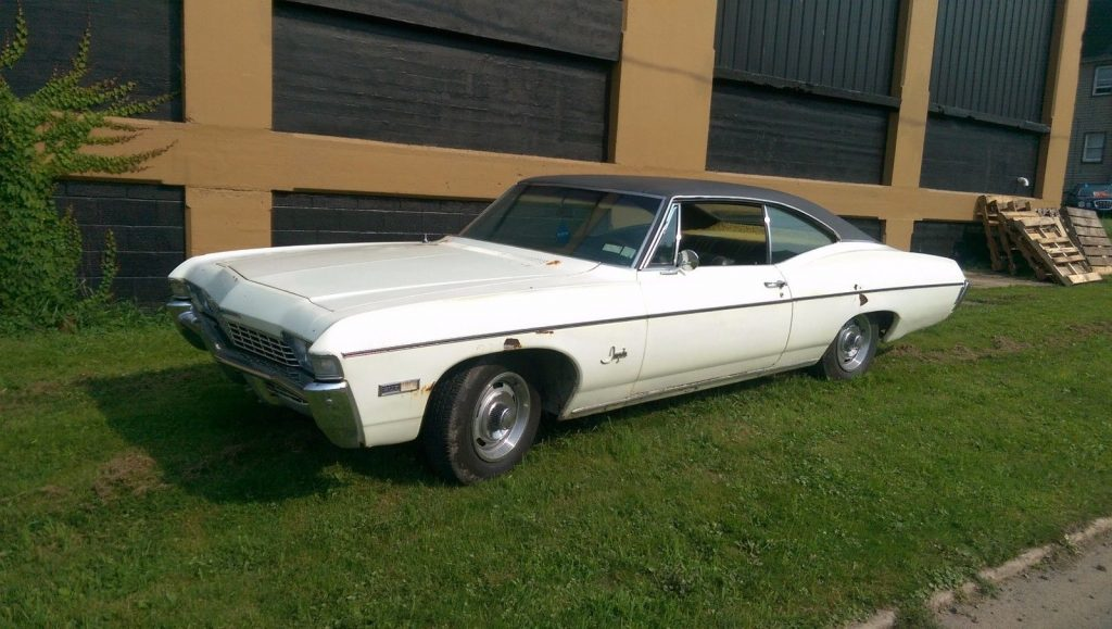 1968 Chevrolet Impala FASTBACK – INTERIOR IS LIKE DAY ONE