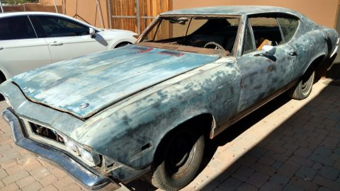 1968 Chevrolet Chevelle – needs complete restoration for sale