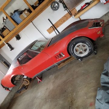 ULTRA RARE 1969 Chevrolet Corvette COUPE for sale
