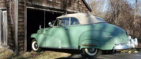 AMAZING 1946 Pontiac Torpedo Back Convertible for sale