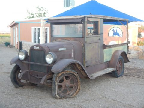 1929 Buddy Stewart Model 21 Canopy Produce Truck Barn Find for sale