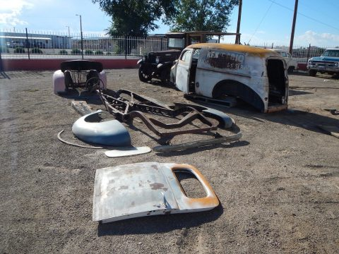 1940 Ford Sedan Delivery with cool patina New Mexico Barn Find for sale