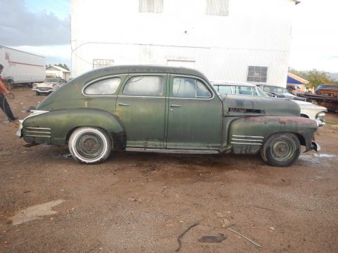 1941 Cadillac 4 Door Sedan Fastback Barn find for sale