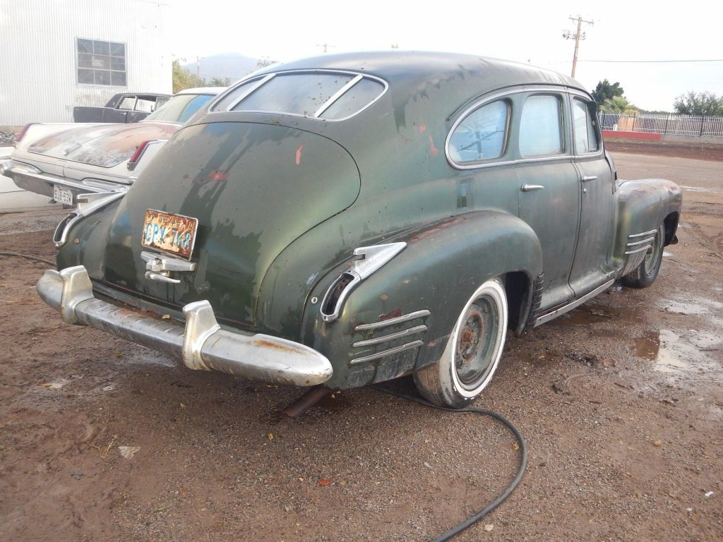 1941 Cadillac 4 Door Sedan Fastback Barn find