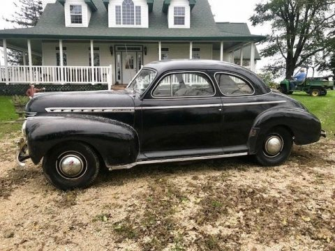 1941 Chevrolet Special Deluxe 2 dr Coupe 57k Actual Miles for sale