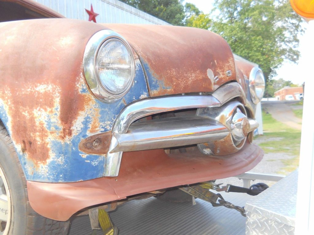 1949 Ford Coupe Project Barn find