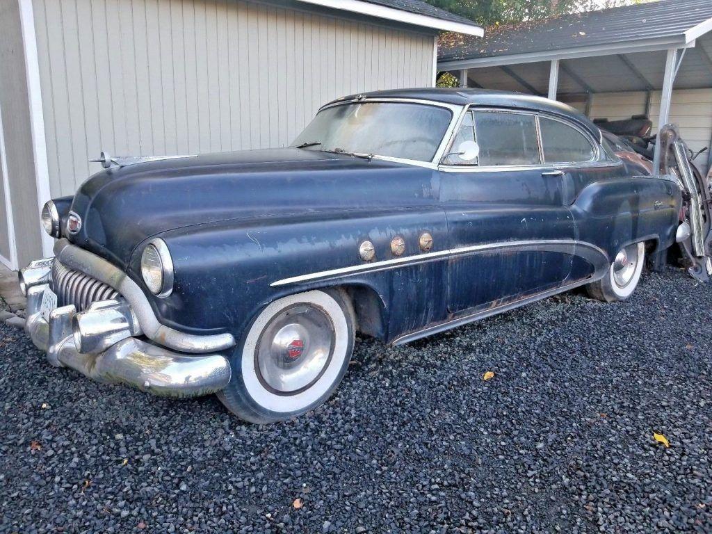 1952 Buick Riviera Super Barn find