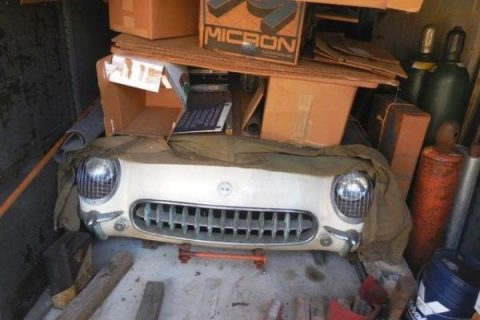 1954 Chevrolet Corvette Barn Find Parked for 52 years for sale