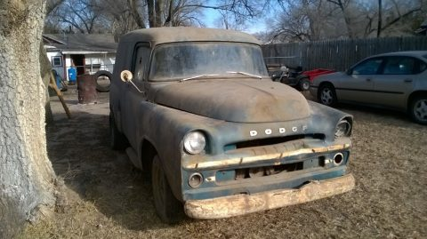1957 Dodge Panel Truck Barn find for sale
