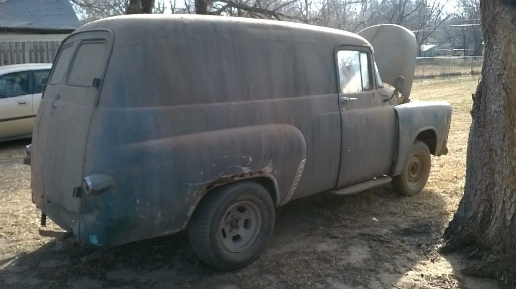1957 Dodge Panel Truck Barn find