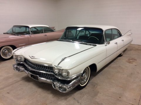 1959 Cadillac Sedan Deville 15,000 Miles barn find loaded for sale