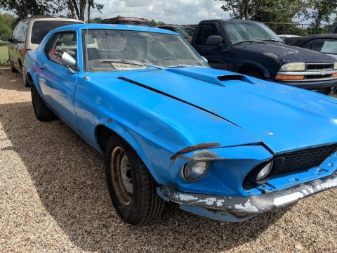 1969 Ford Mustang Hardtop 351 V-8 4-bbl. Cruise-O-Matic Barn Find for sale
