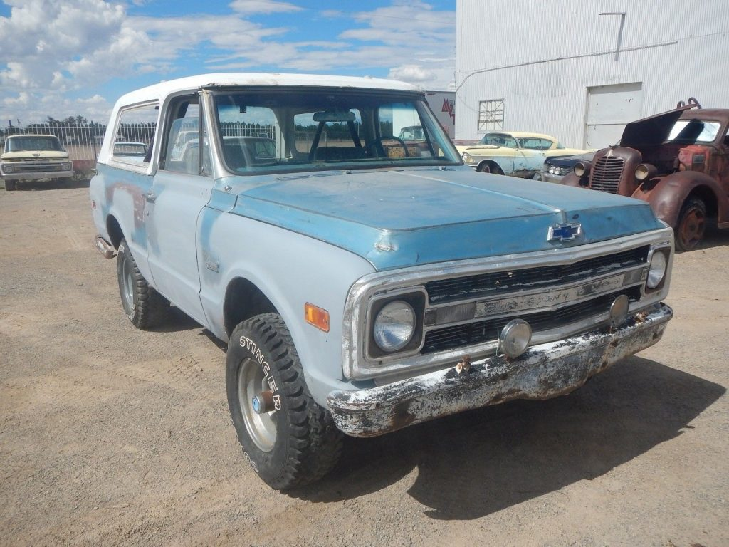 1970 Chevrolet Blazer K5 Barn find