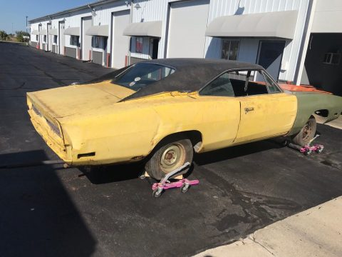 1970 Dodge Charger Barn find tons of parts for sale
