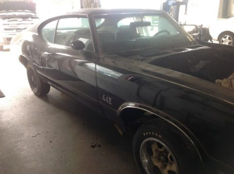1970 Oldsmobile 442 barn find for sale