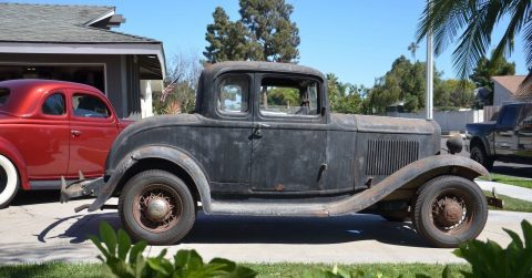 Barn find 1932 Ford Coupe Original Paint and Parts!! for sale