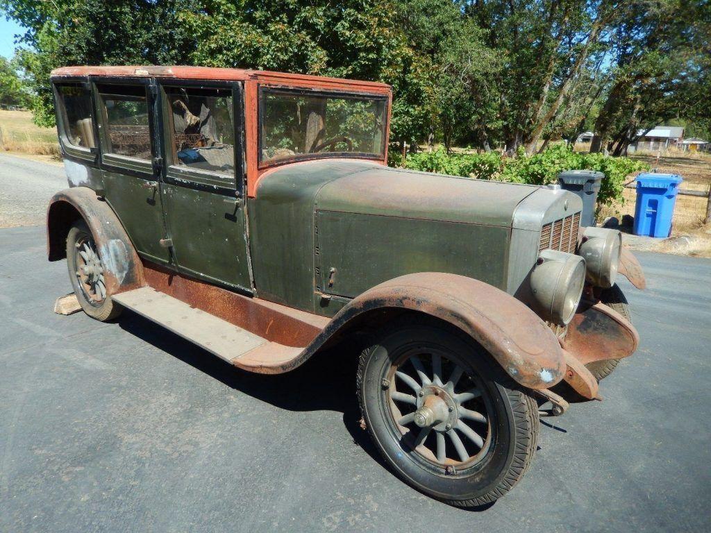 1926 Franklin Model 11a Air Cooled Engine Antique Vintage barn find