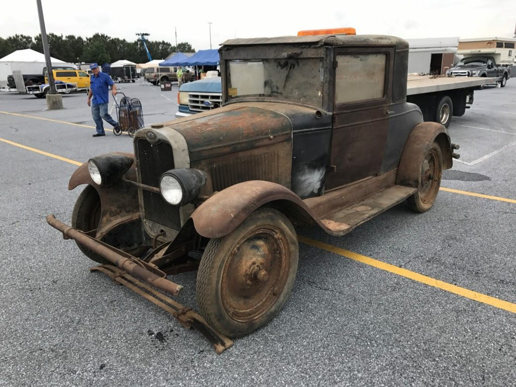 1928 Chevrolet Coupe Barn Find