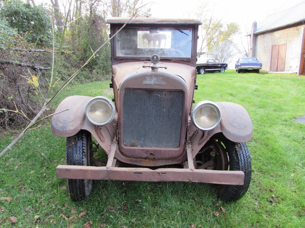 1928 REO Speed Wagon Tonner DC Barn Find