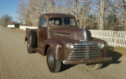 1946 Mercury Pickup Truck Jailbar Flathead V8 Barn Find Patina for sale