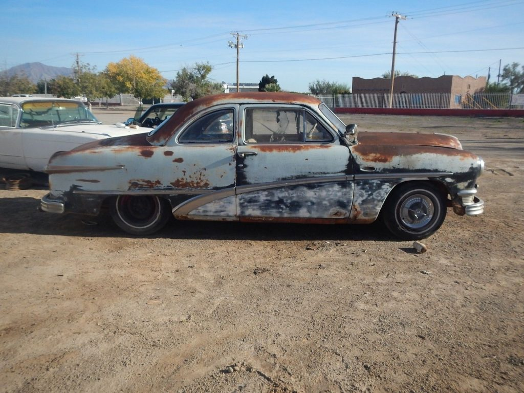 1950 Ford Business Coupe Old Custom Flathead 2 Carbs