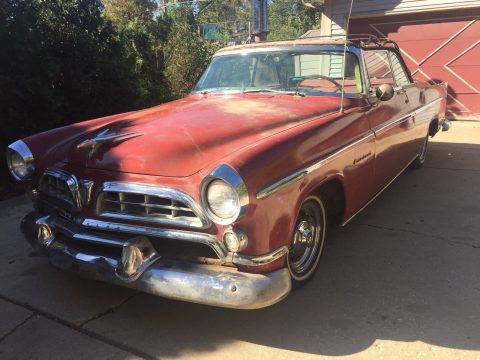 1955 Chrysler Windsor Convertible Barn find for sale