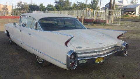 1960 Cadillac 4 door hard top 4 door 6 window barn find for sale