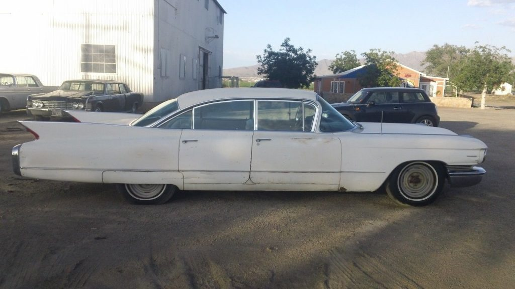 1960 Cadillac 4 door hard top 4 door 6 window barn find