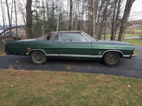 1967 Ford Galaxie Convertible Barn find for sale