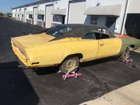 1970 Dodge Charger Project with Parts barn find for sale