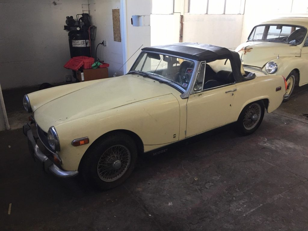 1970 MG Midget Barn find California car