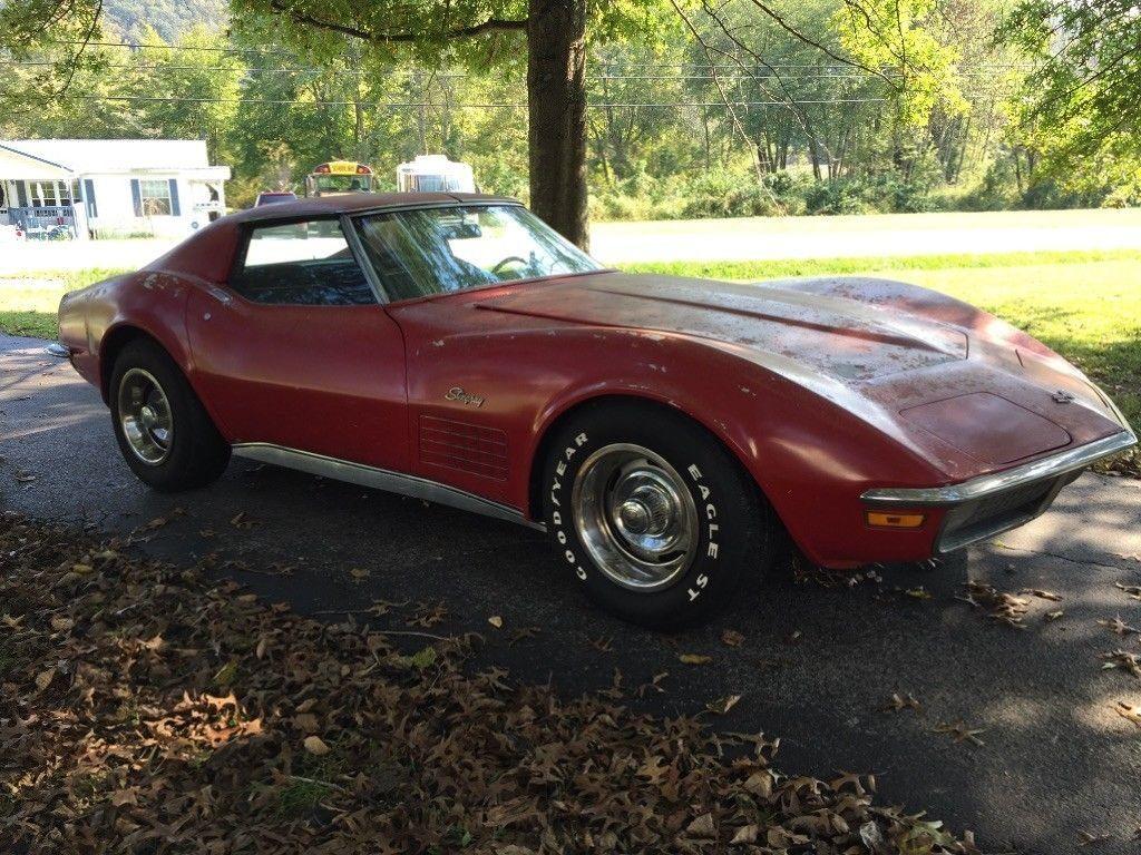 1971 Chevrolet Corvette Barn Find